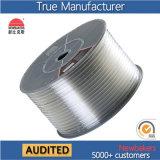 Gerader PU-pneumatischer Luft-Hochdruckschlauch/Wetterlutte/Luftröhre 10*6.5 transparent