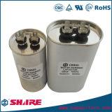 Ovaler Aluminium Cbb65 Wechselstrommotor-Läufer-Kondensator