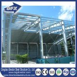 Edifício pré-fabricado personalizado da construção de aço da grande extensão de preço de fábrica