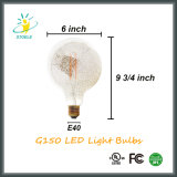G150 E40 van de Zilveren LEIDENE van het Chroom het Licht Decoratie van de Gloeidraad