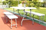 '' Tableau de pliage de valise du HDPE 6FT 72*30, Tableau de pliage en plastique, Tableau de jardin