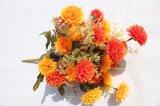 가정 결혼식 훈장을%s 인공 꽃 국화 실크 가짜 꽃