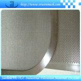 Rete metallica sinterizzata con protettivo, la filtrazione, la separazione e lo strato supportante