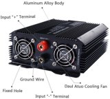 12V geänderter Wellen-Energien-Inverter des Sinus-1500W