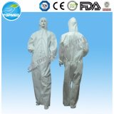 Coverall PP или SMS Microporous с клобуком