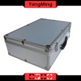 Kasino-Schürhaken-kann Aluminiumchip-Kasten mit Griff-Schürhaken-Tisch-Standardengagiertem um regeln und Quadrat bricht Ym-Ab01 ab