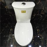 Gute Qualität einfach, einteilige Porzellan-Toilette zu säubern