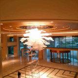 Lamp van de Tegenhanger van het Project van het Hotel van het Kristal van de Bloemen van het hotel de Decoratieve Moderne Grote Spectaculaire