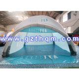 Kampierende Tent/PVC Luft gedichtete aufblasbare bekanntmachende Zelte des im Freienbekanntmachenaufblasbaren Würfel-