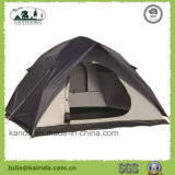 完全なカバーが付いている4つの人の二重層のキャンプテント