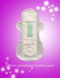 290mm ultra finos, guardanapo sanitários fêmeas da Ventilador-Forma