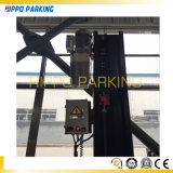ポストは2つの郵便車の駐車上昇車Serviceliftを共有した