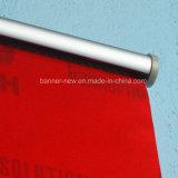 Drapeau s'arrêtant de tissu en aluminium de Pôle (SS-HB9)