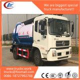 Dongfeng 4X2 8000litros Caminhão-tanque de esgoto líquido para venda