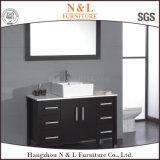 Muebles europeos del cuarto de baño de madera de cabina de cuarto de baño del estilo
