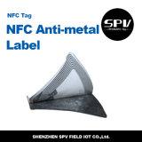 Etiqueta anti del metal de NFC con la viruta de Ntag213 NFC