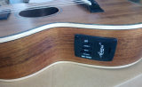 Neuer elektrischer Koa BeschaffenheitUkulele mit UK300t der kleinen Gitarre akustisch