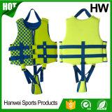 Giubbotto di salvataggio di lusso di lancio di nuoto del bambino 2-Buckle (HW-LJ006)