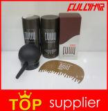 A etiqueta confidencial das fibras do edifício do cabelo do cuidado de cabelo personaliza