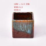 Flambeado de cerámica vidriada Pequeño Tiesto, Bonsai Pots mayorista
