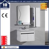Cabina modificada para requisitos particulares blanca de los muebles del cuarto de baño del MDF de la alta calidad