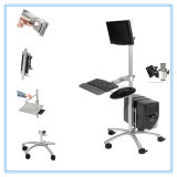 Mobiler Computer-Tisch-Arbeitsplatz