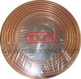 Pfannkuchen-kupfernes Gefäß für HVAC