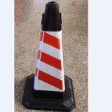 Hight Qualitätsstraßen-Verkehrssicherheit-Kegel-rote verwendete Kegel