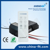 Receptor variável da lâmpada do controlador do ventilador da velocidade da C.C. de controle remoto