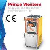 車輪が付いている高品質の低価格のコマーシャル3の味のお人好しのサーブのアイスクリーム機械
