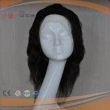 Volle Spitze-Frauen-Perücke mit natürliche Farbe voller Handtied Technik-Perücke