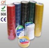 Bande de PVC élevée de Preformance électrique avec bon Insulativity électrique