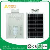 luz de rua solar Integrated do diodo emissor de luz 5W-120W com controle de tempo para o jardim