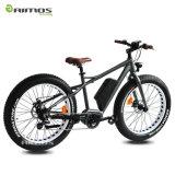 4.0 إطار العجلة إدارة وحدة دفع منتصفة درّاجة كهربائيّة سمين