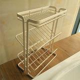 철사 샴푸 선반 2~4개의 층 목욕탕과 비누 홀더