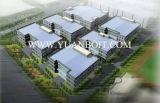 Alto edificio de acero estándar galvanizado