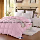 Het het roze Dekbed van Microfiber van de Kleur/Dekbed van de Polyester/onderaan Alternatief Dekbed