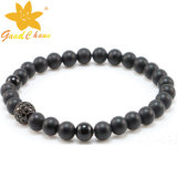 Bracelete preto popular do Onyx da esteira SMB-16120201