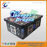 Jogo da pesca da arcada do dragão do trovão com a tabela de jogo para o Vending