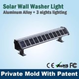 La calzada de alta potencia enciende luces solares más brillantes al aire libre de la calzada
