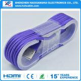 ナイロン編みこみの高速3.1 USBの充電器ケーブル