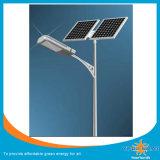 luz de calle solar de 30W 40W 50W 60W