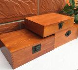 Caja de madera fina del embalaje / caja de madera con la cerradura, conexión de Mortise-Tenon, ninguÌ n pegamento, mucho respetuoso del medio ambiente