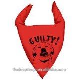 Bandana su ordinazione del triangolo dell'animale domestico della sciarpa della stampa del triangolo dell'animale domestico cane/del gatto