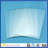 Venta al por mayor la mayoría del vidrio popular 1.8m m a 12m m del claro del vidrio de flotador para la ventana, la barandilla, las particiones de los muebles y las puertas