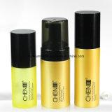 Luftloses Goldplastiklotion-Flasche für das kosmetische Verpacken
