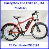 Bici de montaña eléctrica del marco de la bici de 22 pulgadas para la venta con la batería del retiro