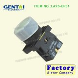 Lay5-EV443 12mmの瞬時の半球形のヘッドねじPinのターミナル防水押しボタンスイッチ