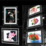Preço de fábrica direto Top Sell Crystal LED Sign Acrylic Light Box