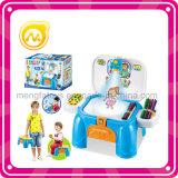 Lavaggio di plastica del giocattolo del capretto, giocattolo della lavanderia con indicatore luminoso e musica
